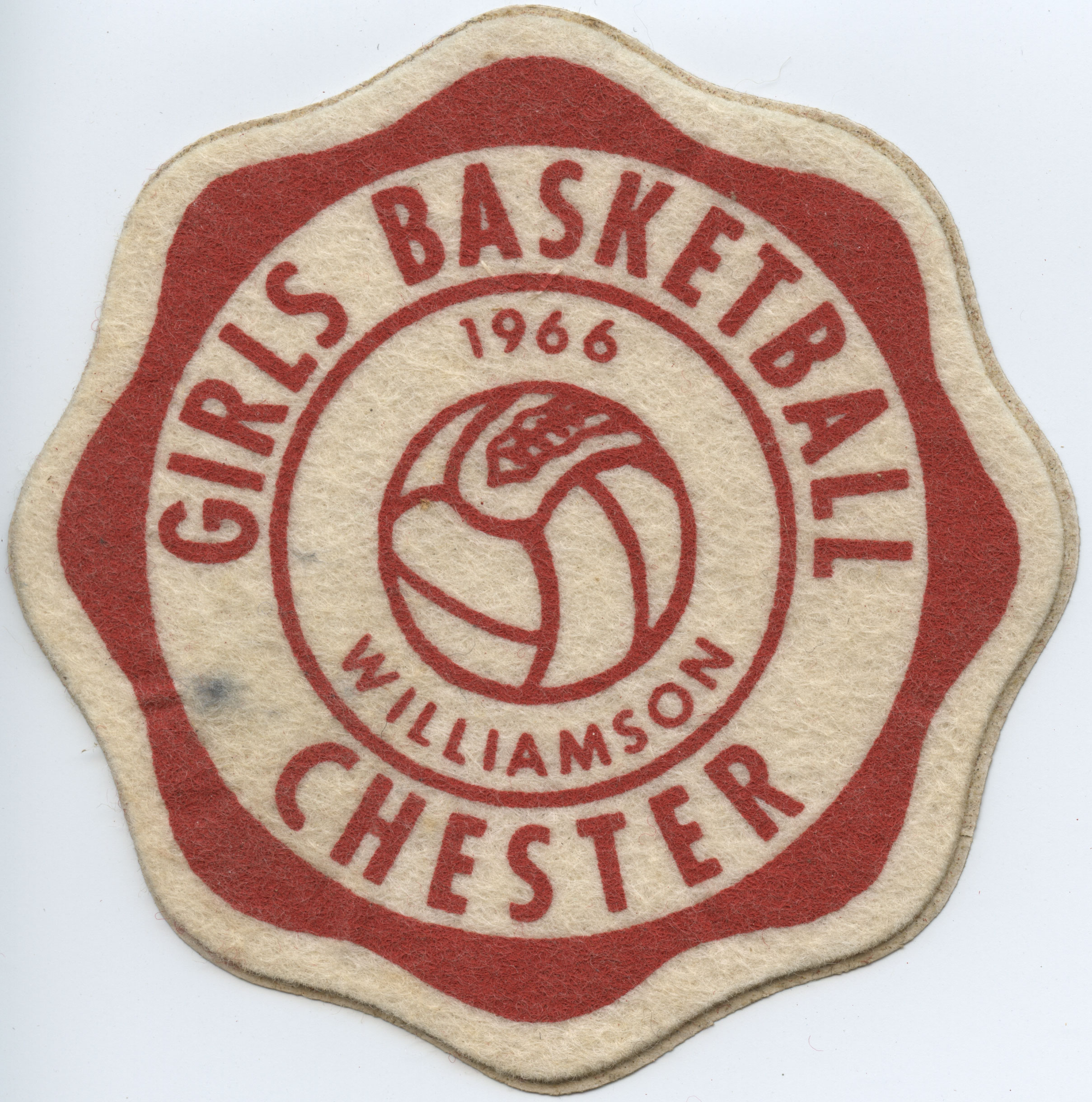 Girls' Basketball Patch, 1966