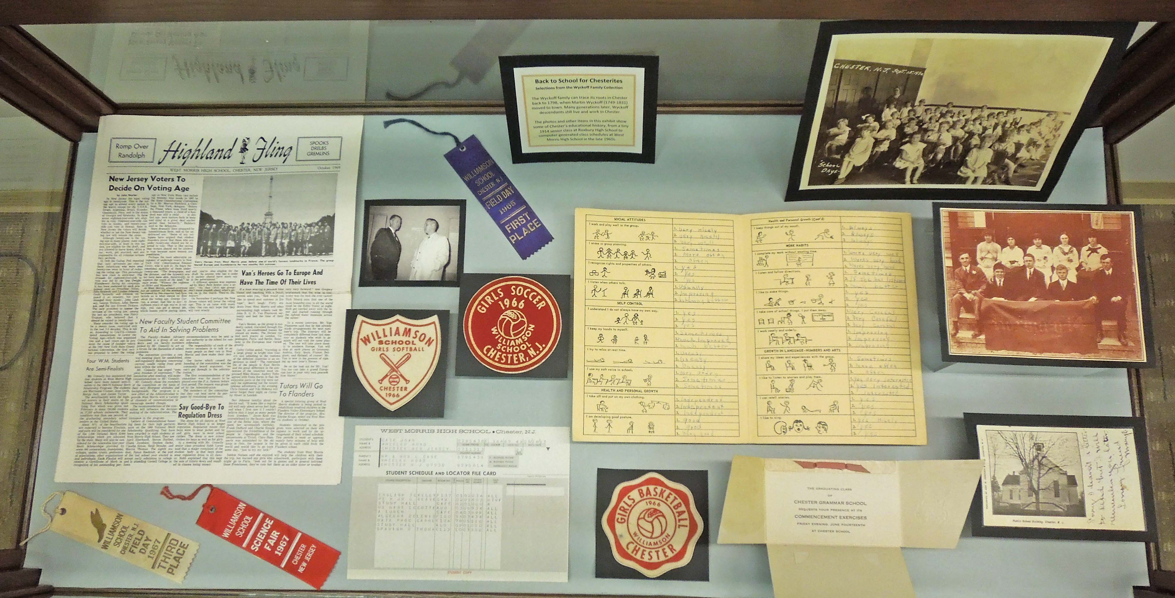 Back to School for Chesterites Exhibit