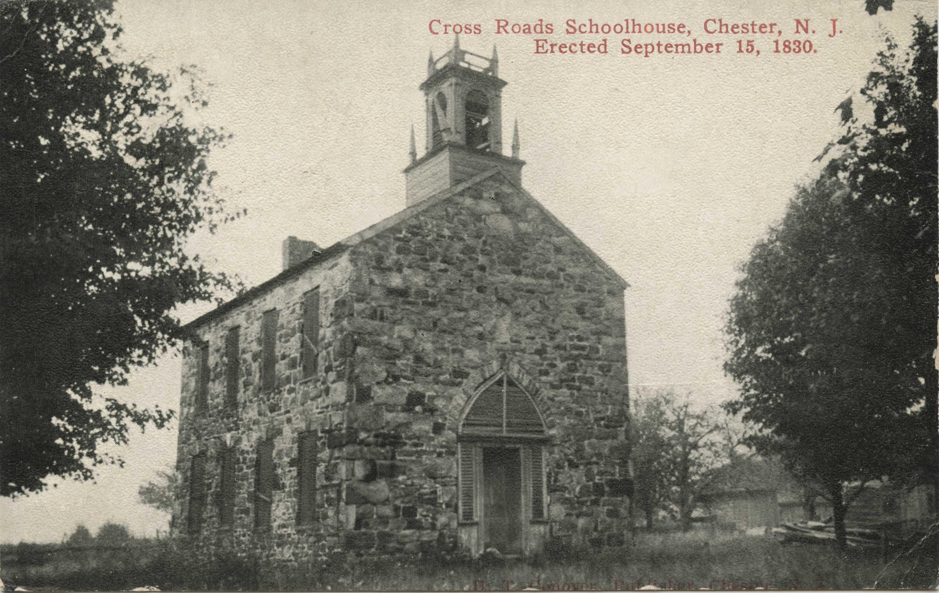 Cross Roads Schoolhouse (front)