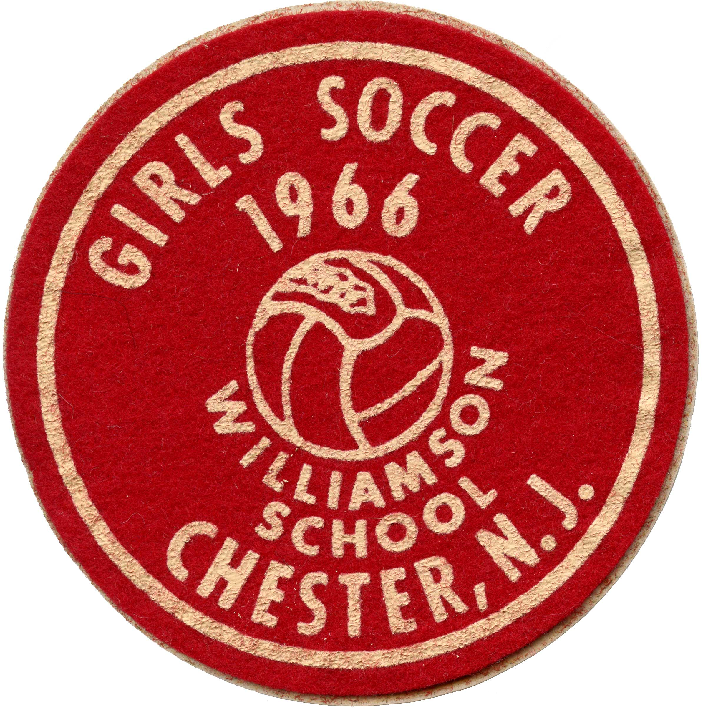 Williamson School 1966 Soccer Patch