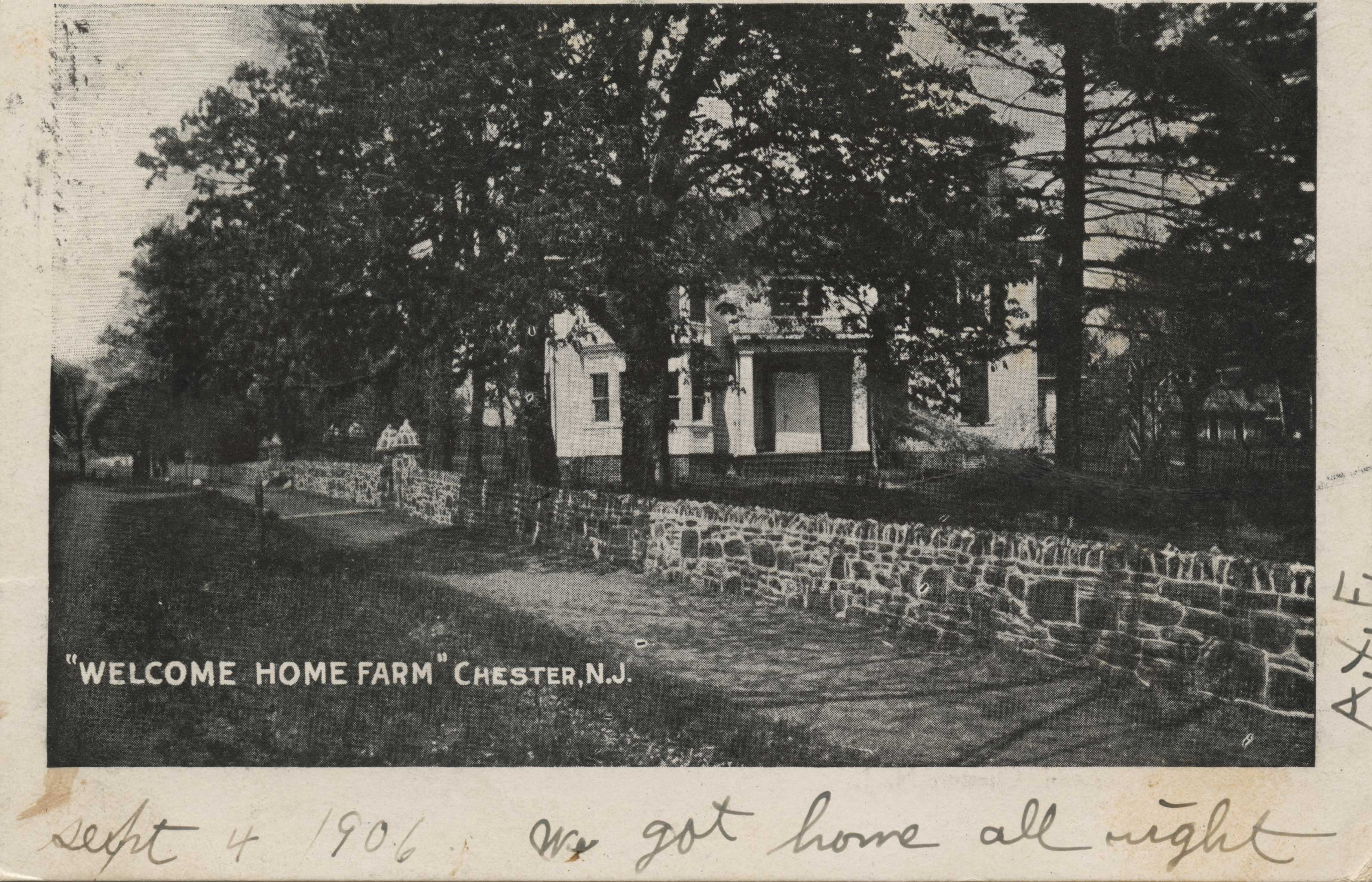 Welcome Home Farm (front)